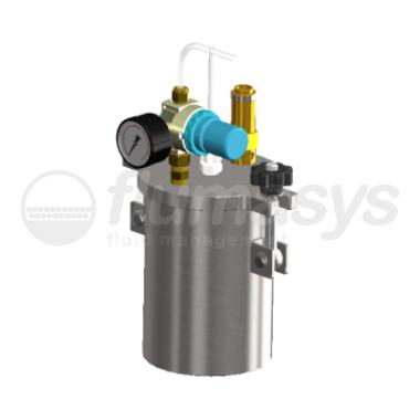 1000ML-ST-1L stainless steel 304 standard Pressure Tank_3D