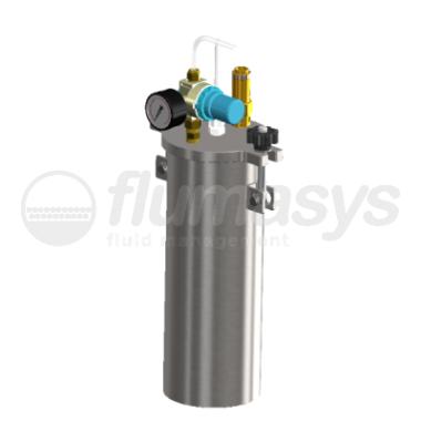 2000ML-ST-2L stainless steel 304 standard Pressure Tank_3D