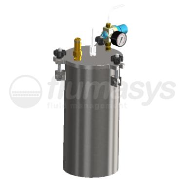 5000ML-ST-5L stainless steel 304 standard Pressure Tank_3D