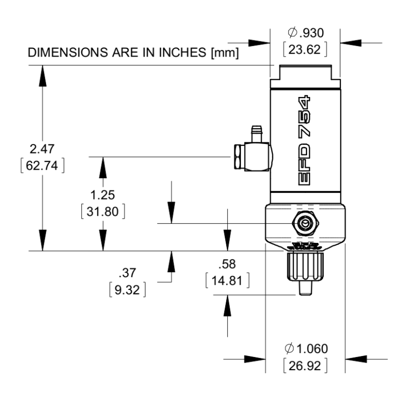 NordsonEFD_7021514_754V-SS_aseptic_diaphragm_valve__drawing