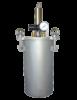 Pneumatical agitated pressure reservoirs