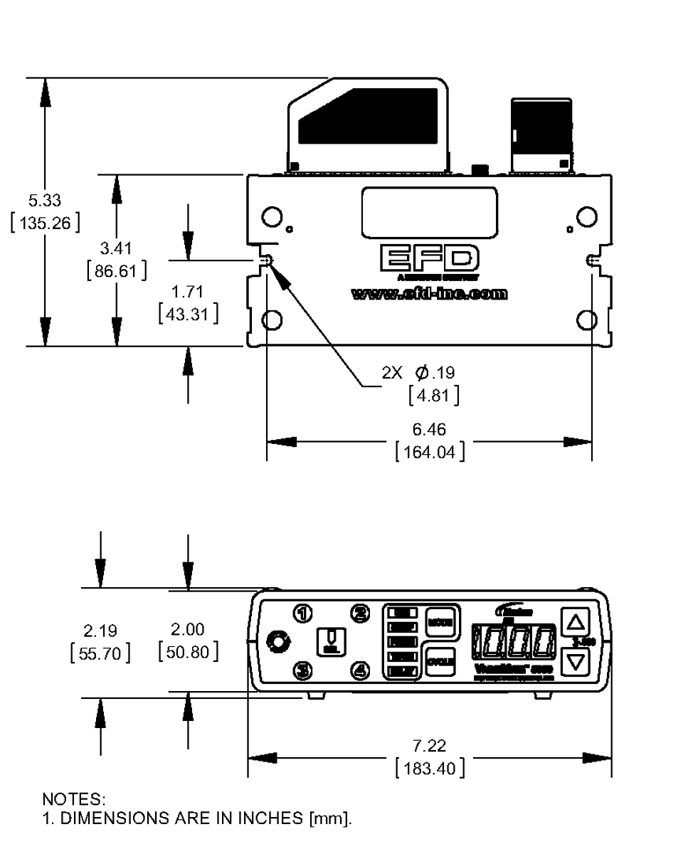 7022004_Nordson_EFD_Controller_ValveMate_8000_Drawing