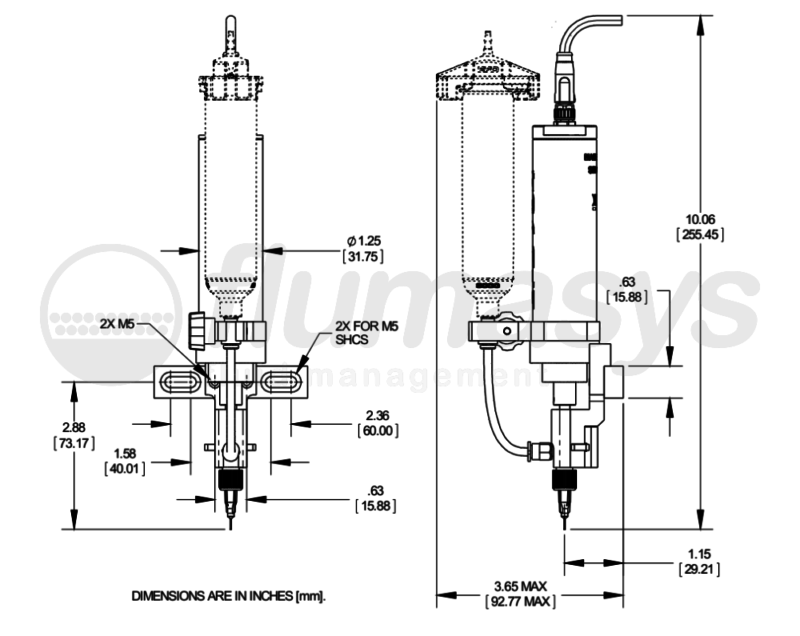 NORDSONEFD-7029463 AUGER VALVE, FIX HD, BRUSHLESS 16P_drawing