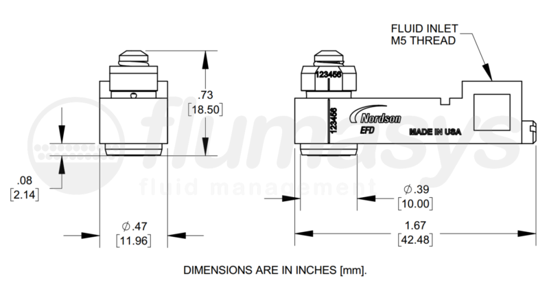 NORDSONEFD_Pico Pulse Fluid Assembly Flat_drawing