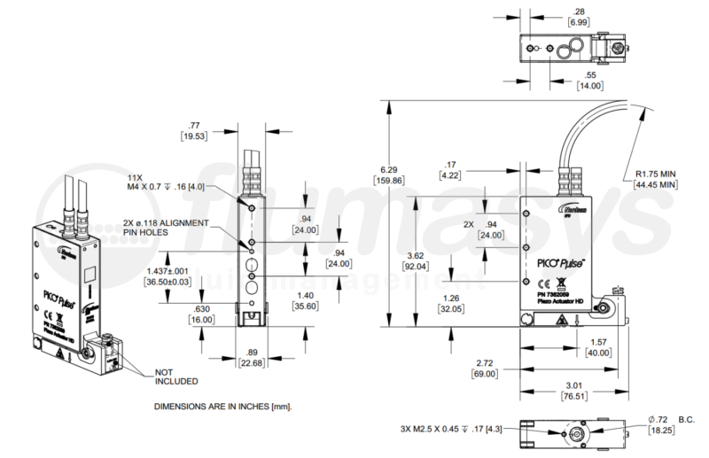 NordsonEFD Pico Valve_drawing