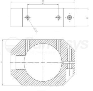 RBS2512_Flumasys_Optimum_retainer_bracket_small_drawing