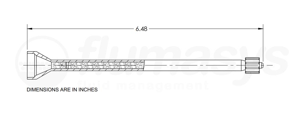 7700822_Nordson_EFD_160-432LL_TAH_static_mixer_drawing