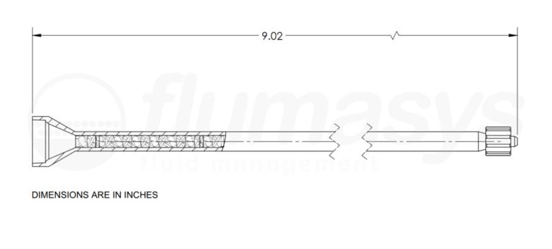7700826_Nordson_EFD_160-448LL_TAH_static_mixer_drawing