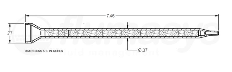 7700837_Nordson_EFD_160-624_TAH_static_mixer_drawing