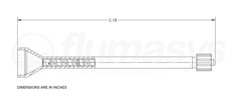 7700817_Nordson_EFD_160-424LL_TAH_static_mixer_drawing