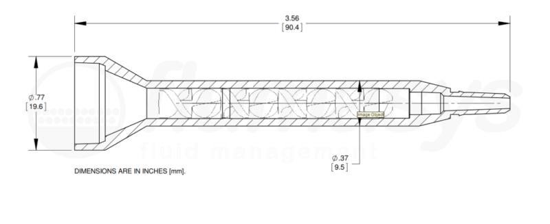 7700830_Nordson_EFD_160-608SH_TAH_static_mixer_drawing