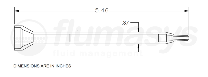 7700836_Nordson_EFD_160-616SH_TAH_static_mixer_drawing