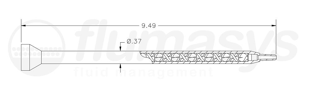 7700865_Nordson_EFD_160-632SH_TAH_static_mixer_drawing