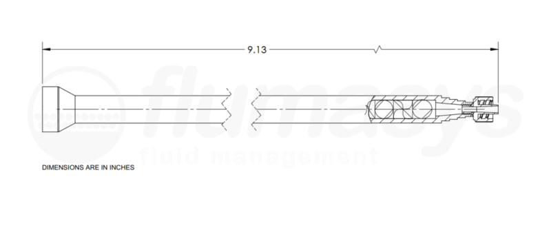 7700878_Nordson_EFD_160-724LL_TAH_static_mixer_drawing