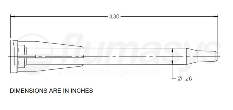 7701424_Nordson_EFD_190-416_TAH_static_mixer_drawing