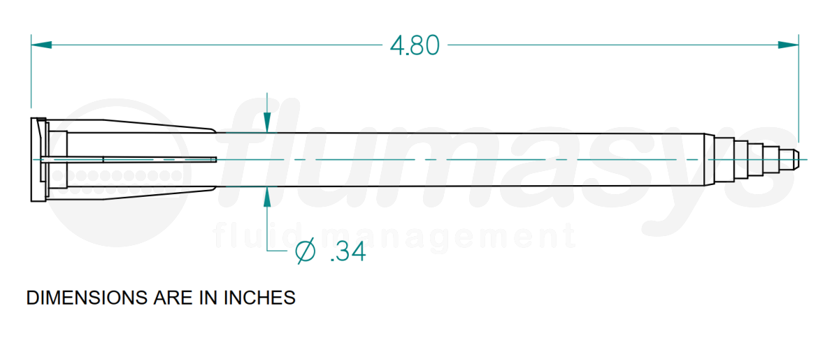 7701486_Nordson_EFD_190-616-01_TAH_static_mixer_drawing