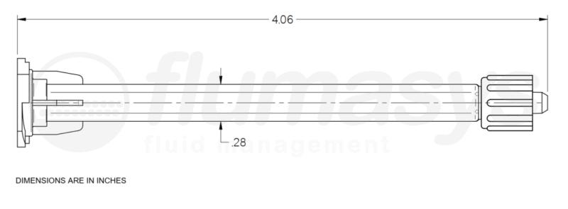 7701836_Nordson_EFD_295-620LL_TAH_static_mixer_drawing