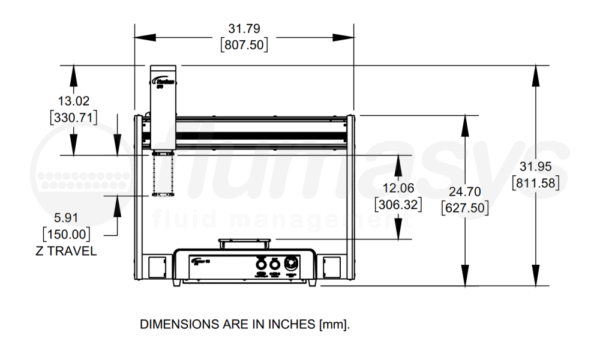 7362102_Nordson_EFD_ROBOT_E6TP_3AXIS_620X500X150MM_drawing_front