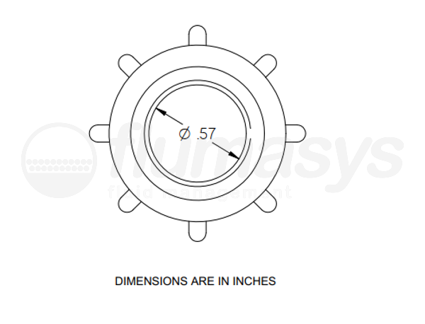 7702595_Nordson_EFD_AN10PP_TAH_retaining_nut_drawing
