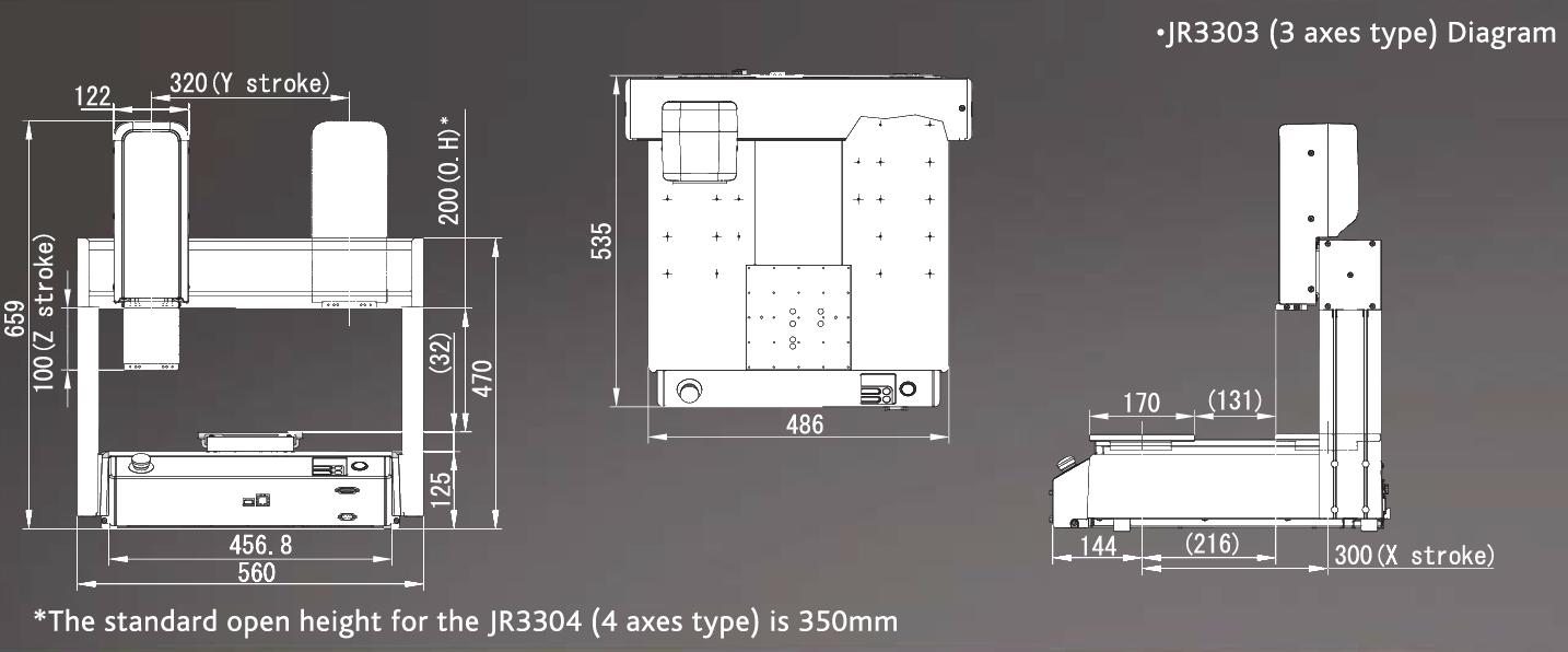Janome_JR3303_Drawing
