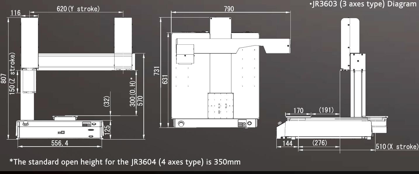 Janome_JR3603_Drawing